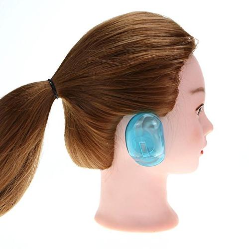 Ear Ear Protection Hair Dye Protect Pro Clear Silicone 1