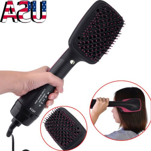 Electric Curling Anion Dryer Comb Styler