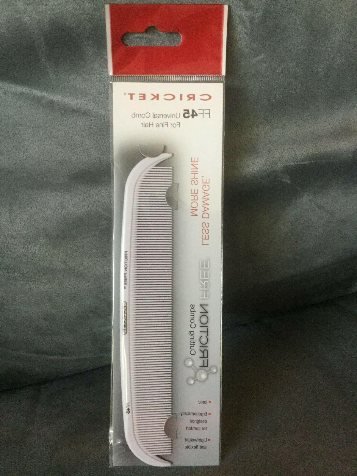 Cricket FF 45 Universal Comb for Fine Hair