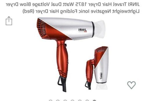 folding hair dryer