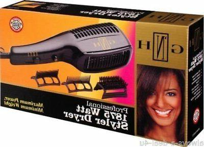 Gold N Hot Gh2275 Professional 1875 Watt Styler Dryer with C