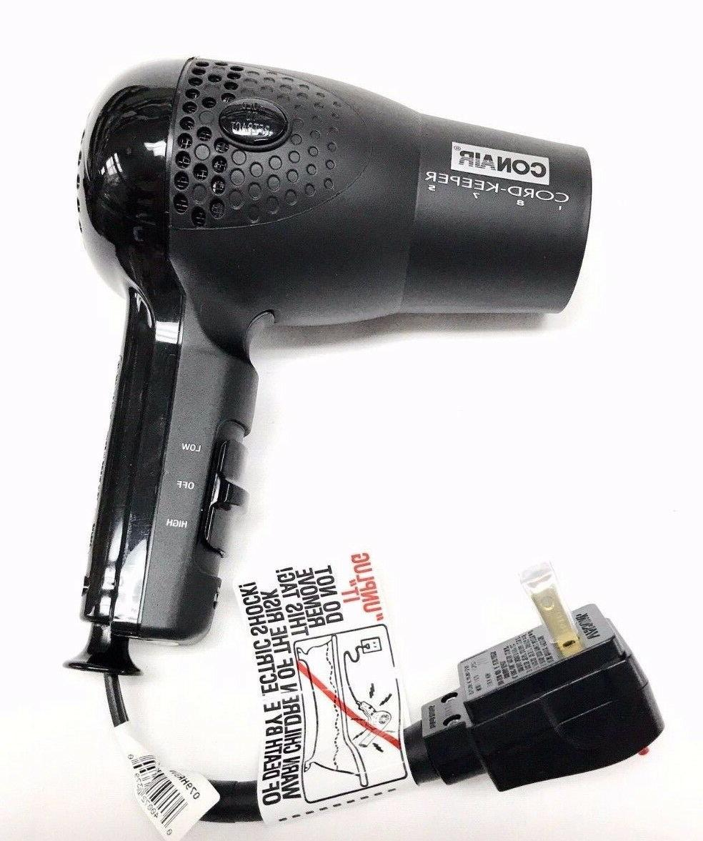 hair blow dryer 1875 ionic retractable cord