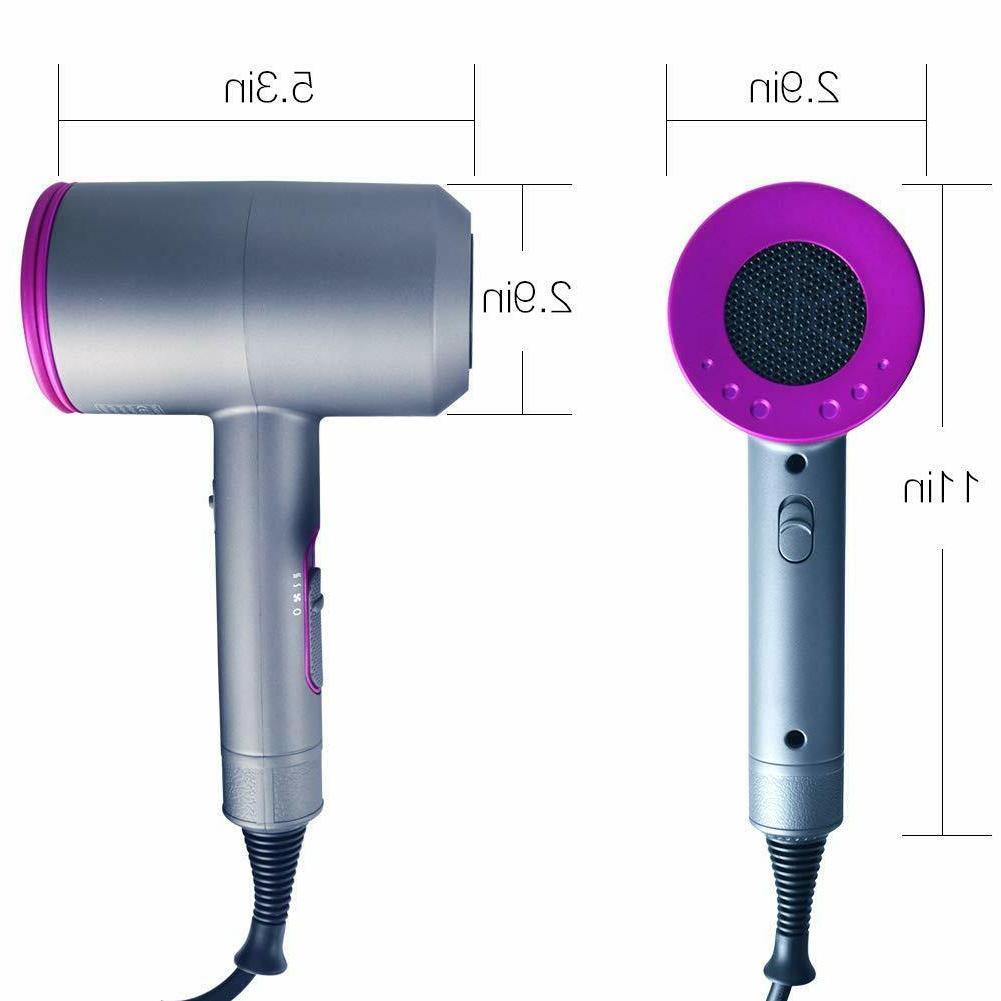 Hair Dryer,1800W Hair no damaging