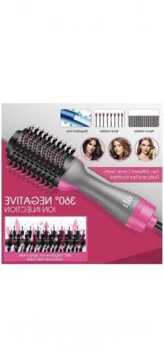Hair Dryer Step Hair Dryer Volumizer, Round