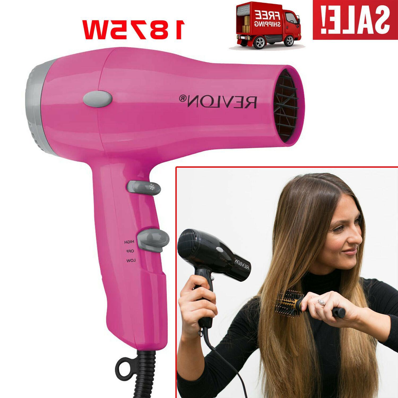 hair dryer compact 2 speed blower 1875w