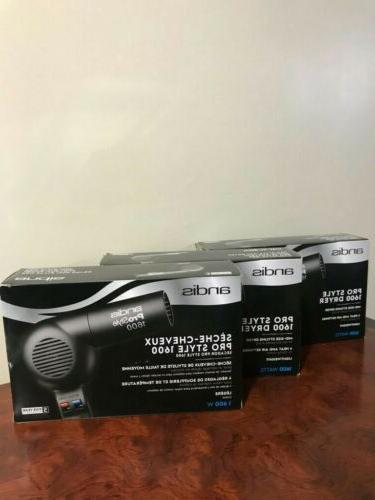 hair dryer handheld black 1600 watts pd