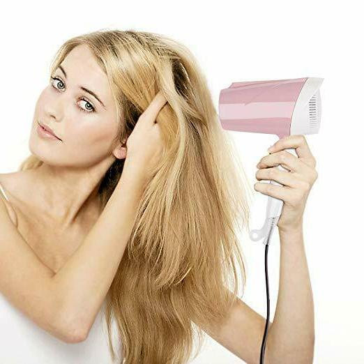 Hair Dryer Faster Drying Small Pink...1600W