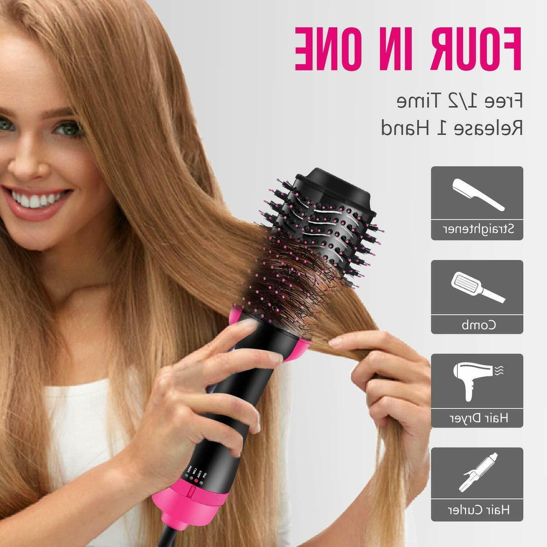 Hair Dryer Brush Coating All Hair Type