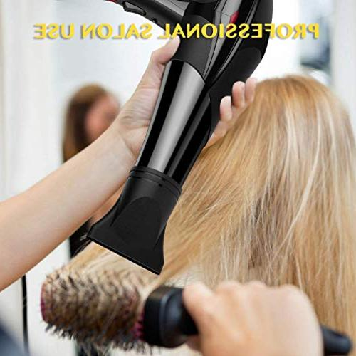 Hair Ionic 3000W with Speed 3 Setting Diffuser, Nozzle and Combs for Hair