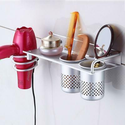 hair dryer stand storage organizer rack holder