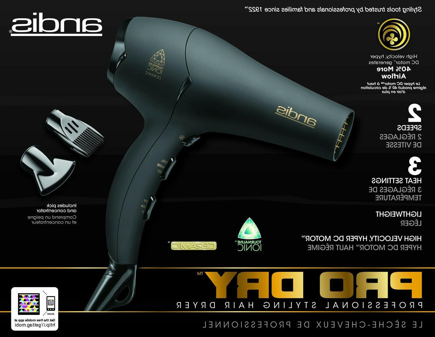 andis DRYER STYLER PRO Styling HVS-1 Quality