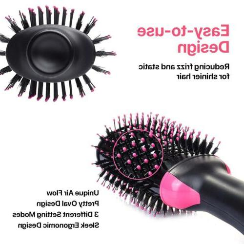 Hair Dryer Step Curler Styler Bristles