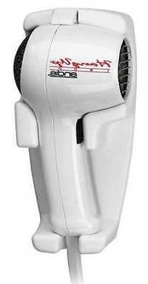 ANDIS HD-3 Hair Dryer,Wall Mounted,White,1600 Watts
