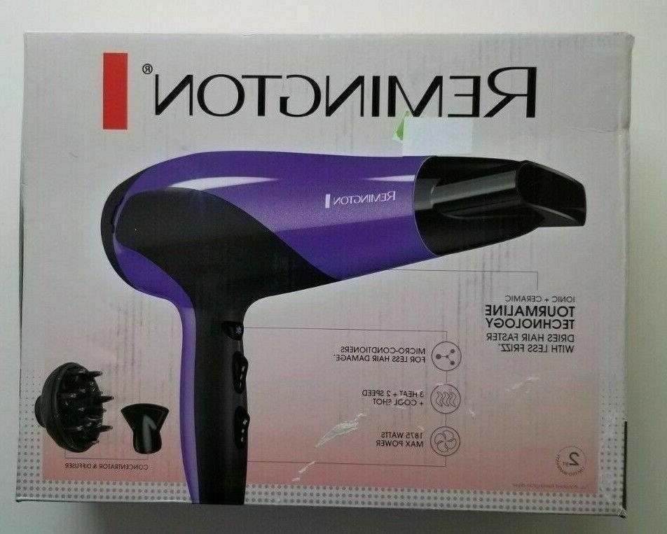 hair dryer with ionic technology purple d3190
