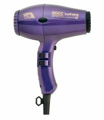 Parlux hairdryer 3500 Super Compact purple 2000 watts