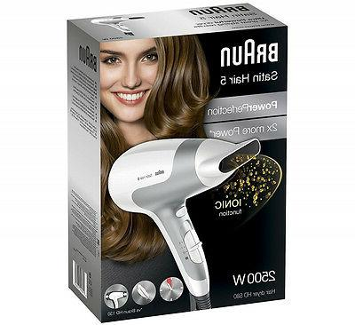 BRAUN HD580 Hair Dryer New