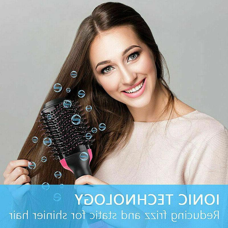 HOT! 2In1 One Hair Brush Straightening Comb