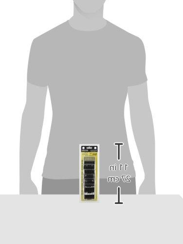 Andis 7pc Attachment Comb Set, Black
