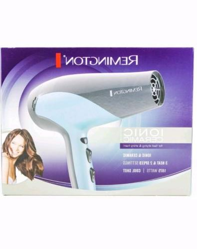 Remington Ionic Ceramic Hair Dryer D3190 1875Watts 3 Heat 2
