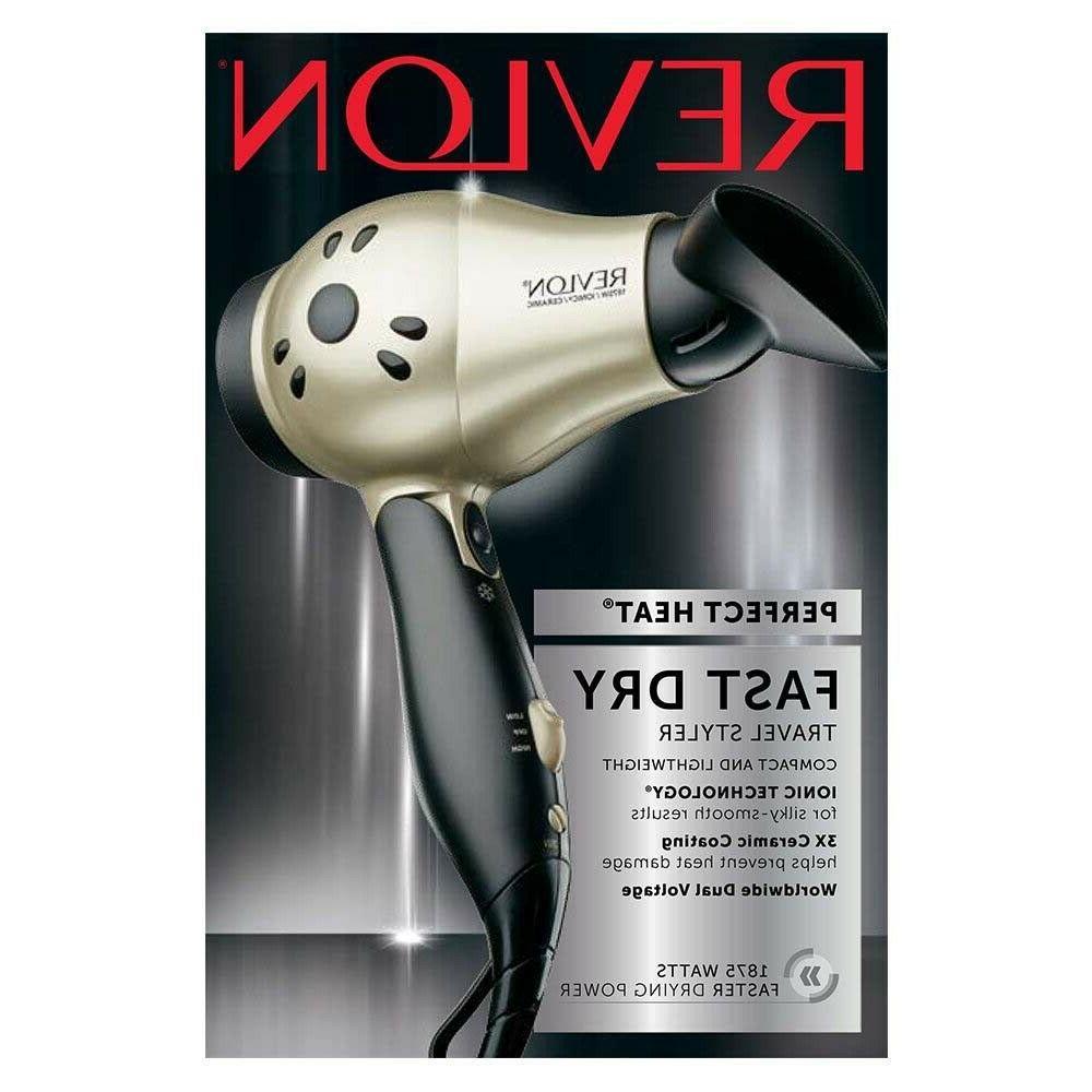 Revlon Ionic Hair Professional Travel Compact Speeds 1875W