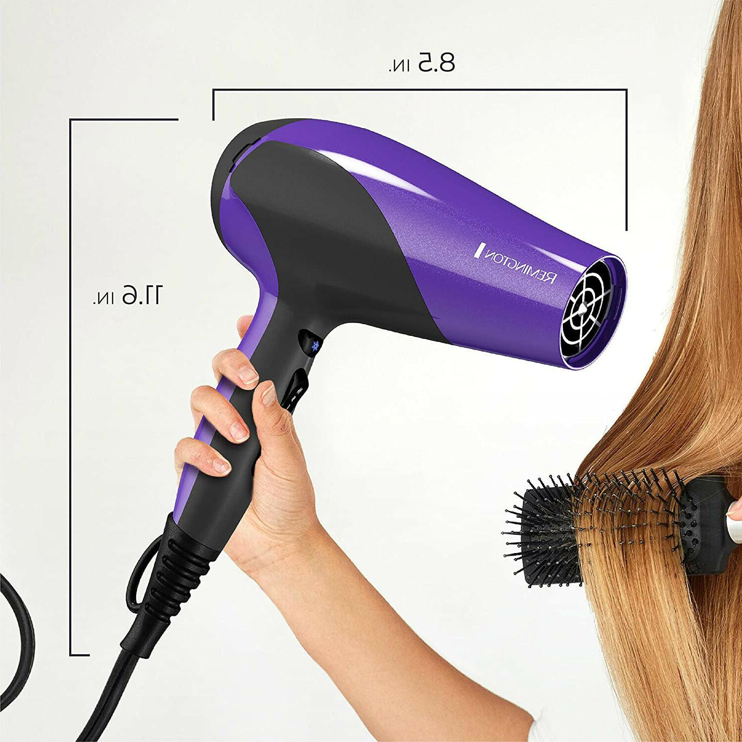 Ionic Hair Dryer Professional Turbo Blow Speed with Diffuser