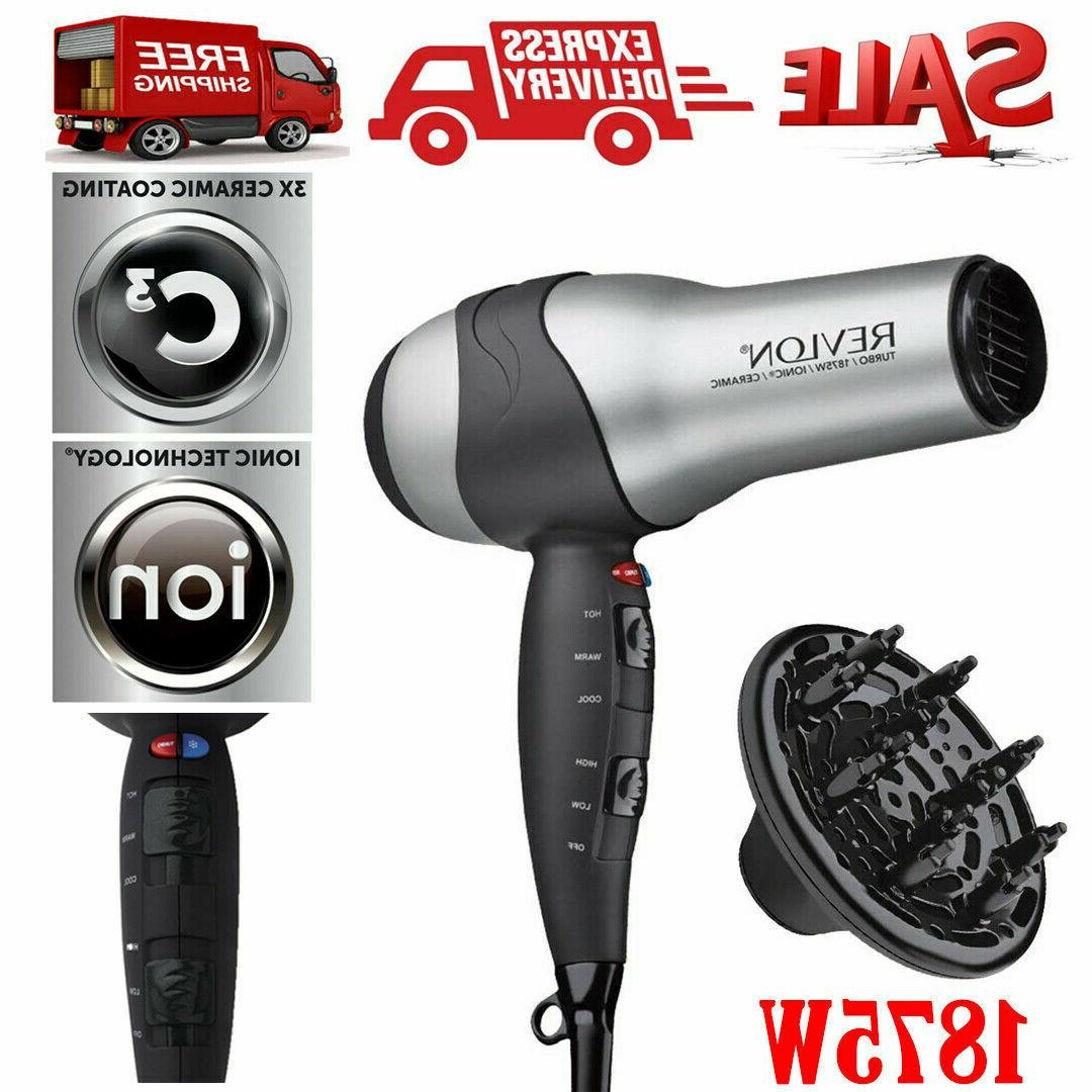 ionic hair dryer revlon professional turbo blow