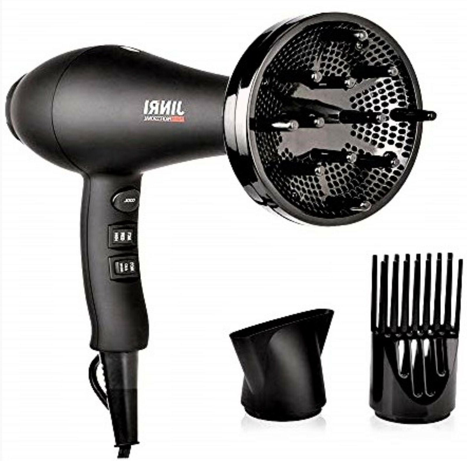 JINRI Iconic Hair Blow Dryer Salon AC Motor