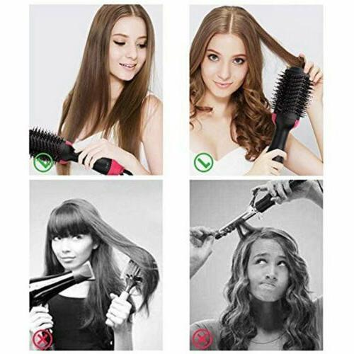 Lady Hair Negative Curling Styling
