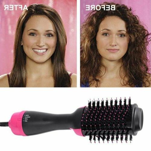 Lady Negative Curling Oval Brush Hair Styling