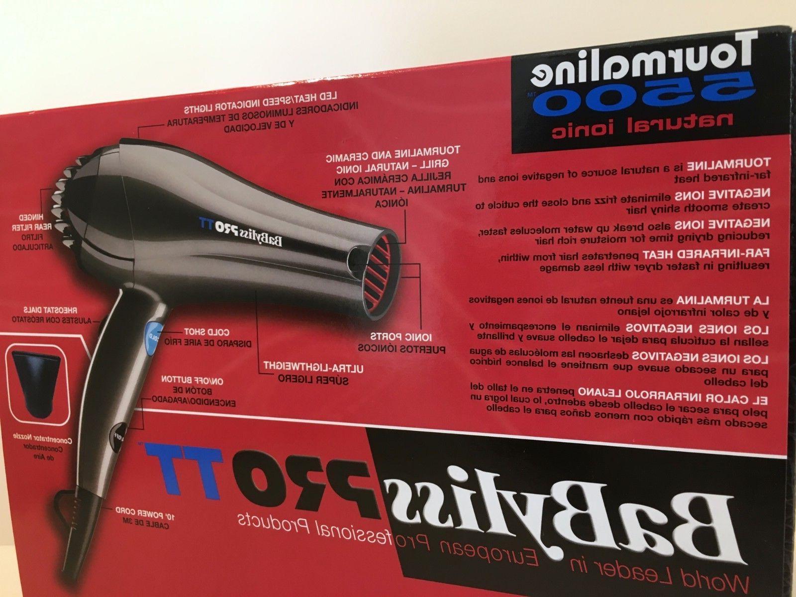 LIMITED BaByliss TT 5500 Hair Blow Dryer 3000