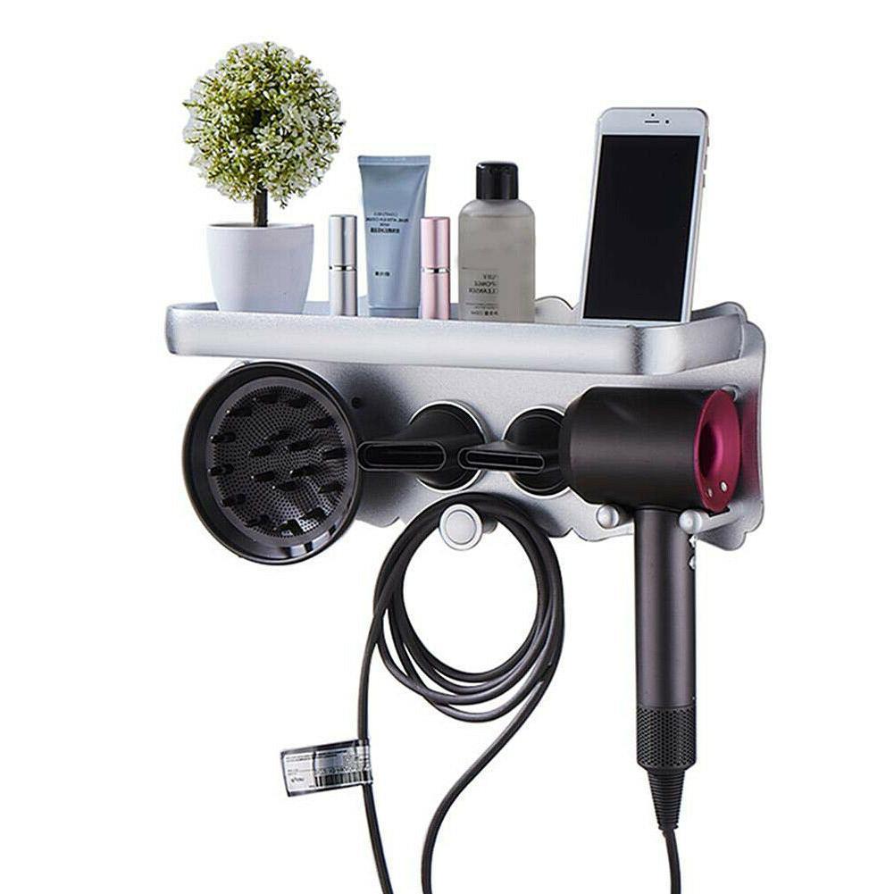 Magnetic For Hair Dryer Mount Holder