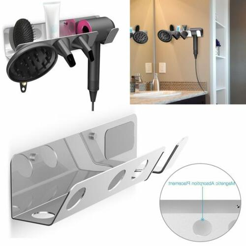 Magnetic Wall Mount Holder Hanger for Dyson Supersonic Hair