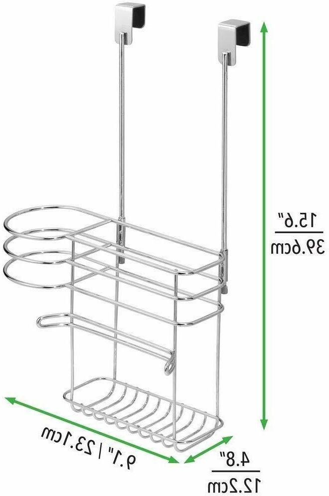 mDesign Door Hair & Tool Storage