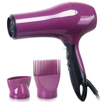 myonaz hair dryer professional with straightening comb