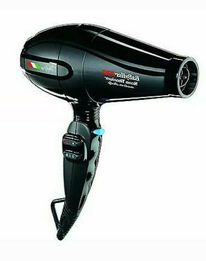 Babyliss Pro Nano Portofino 6600 Hair Dryer, Black