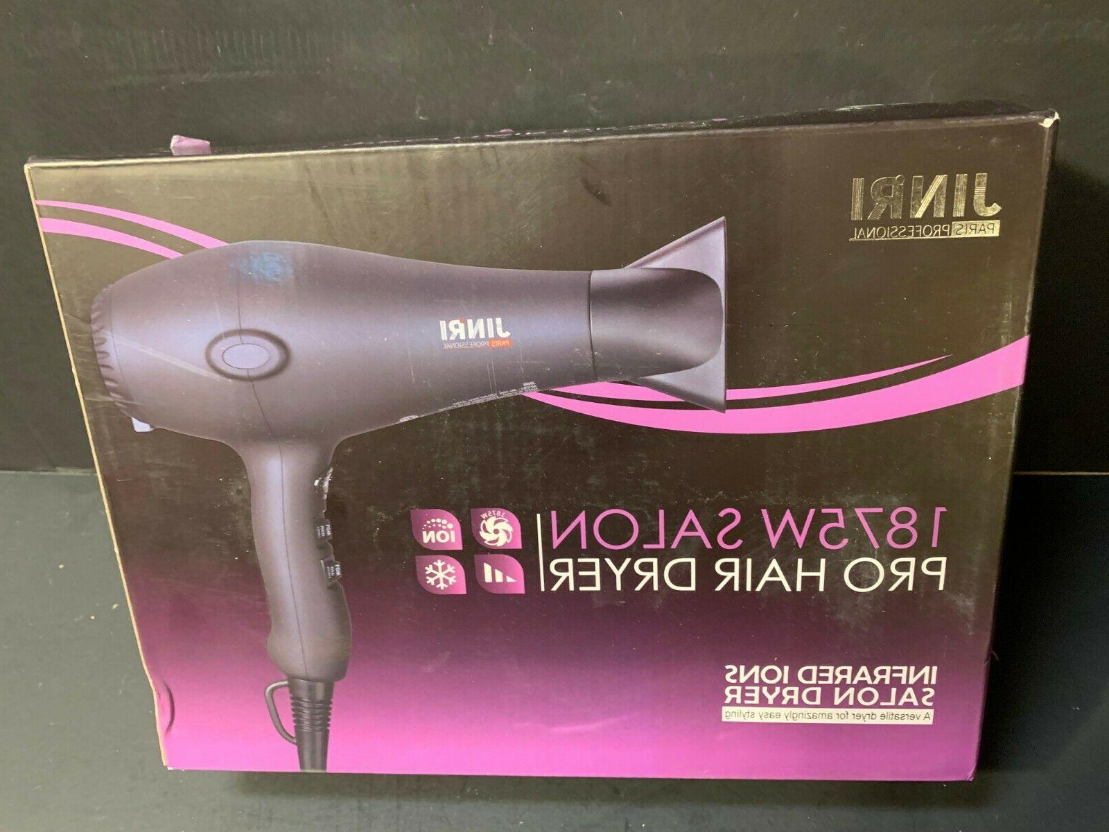 new 1875w salon pro hair dryer infrared