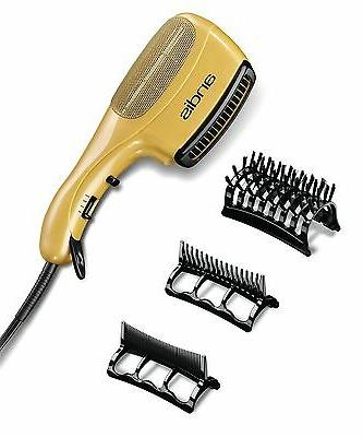 NEW Ceramic Ionic Styler Hair Blow Dryer Straight Curl Comb