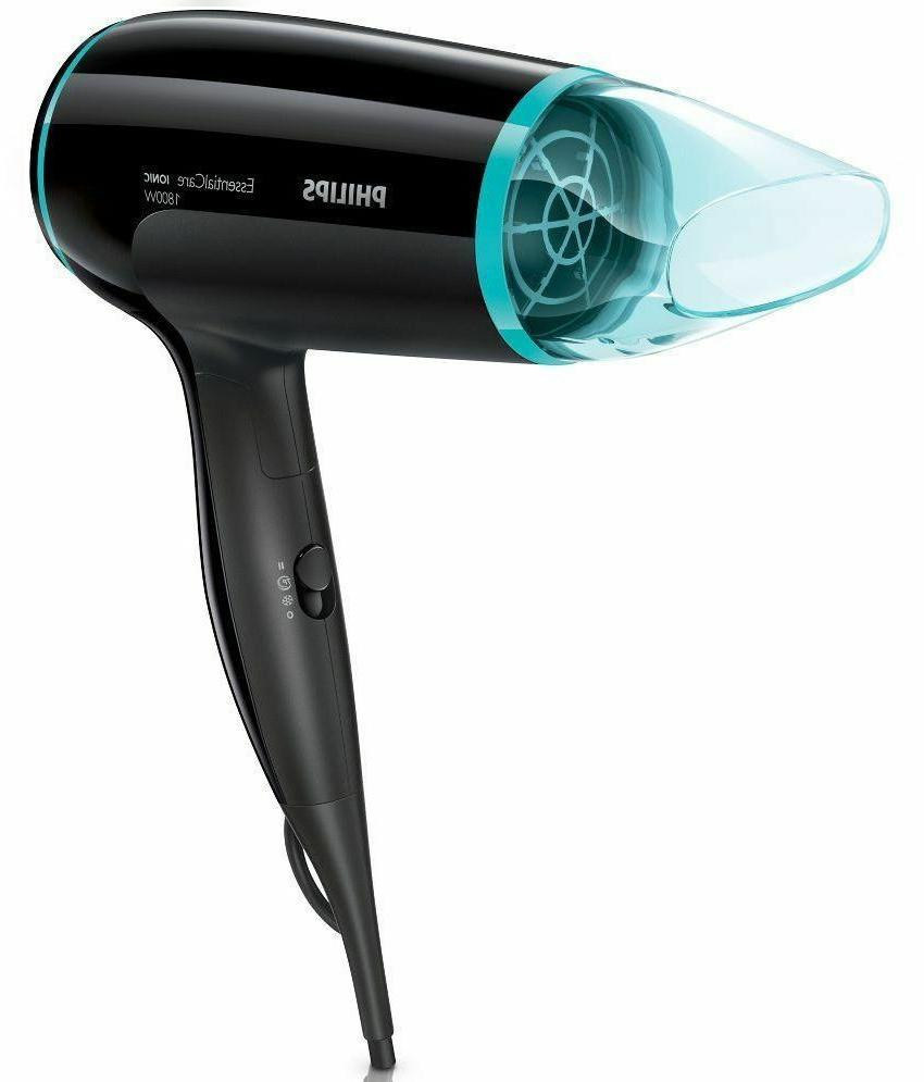 NEW Philips Essential Care Hair Dryer BHD007/09 1500W Speed