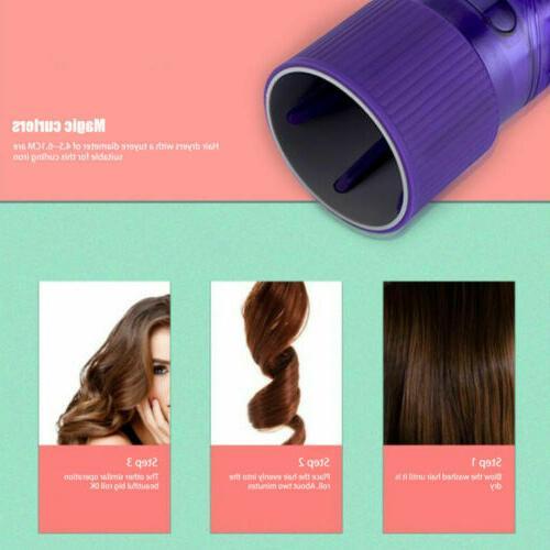 Hair Drying Blow Wind Curl Hair