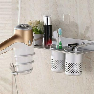 new hair dryer stand storage organizer rack