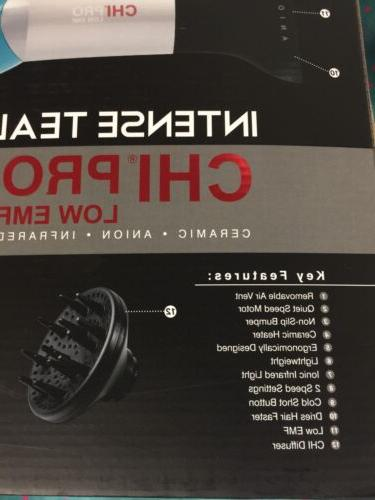 NEW Pro 'Intense Teal' Low Hair Dryer Concentrator