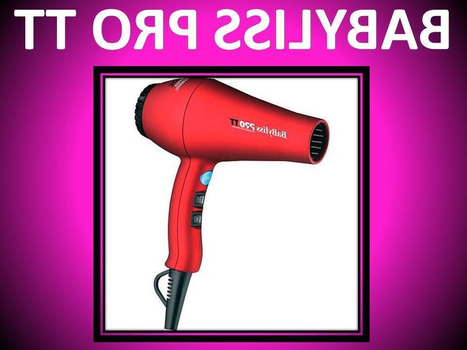 NEW BABYLISS TT 3000 TITANIUM RED HAIR BABTT5585