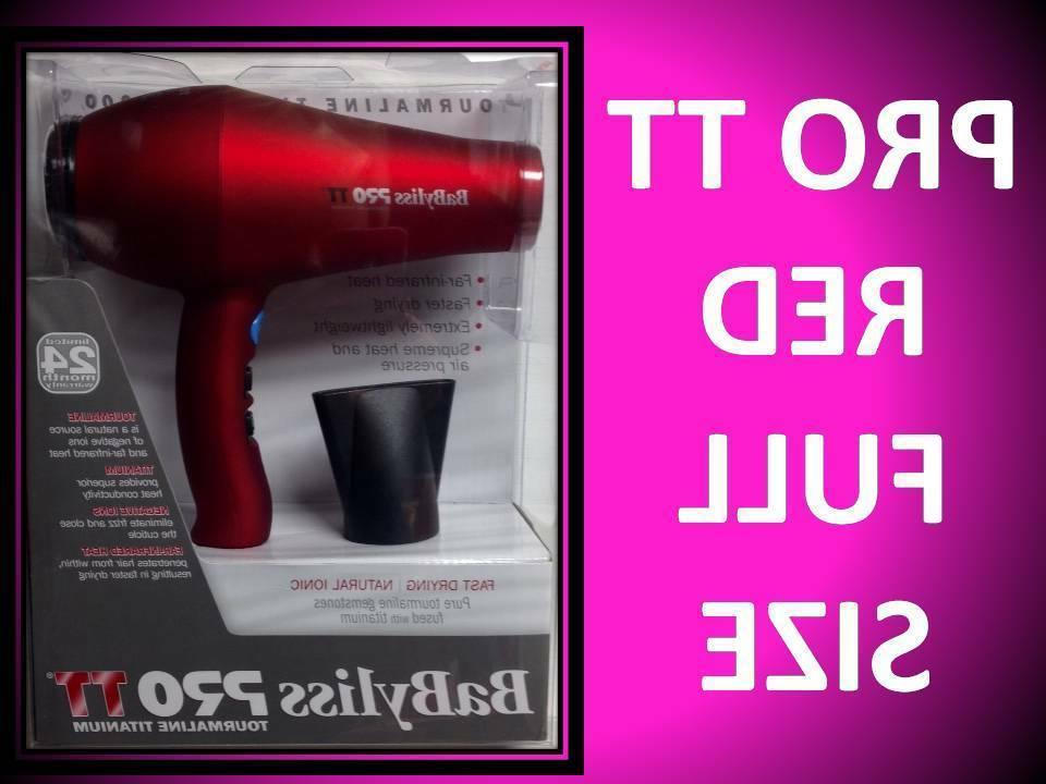 new tt 3000 tourmaline titanium ionic red