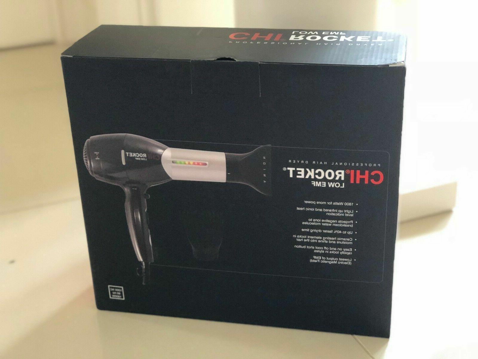 NIB CHI Rocket EMF Hair - WATTS Infrared &