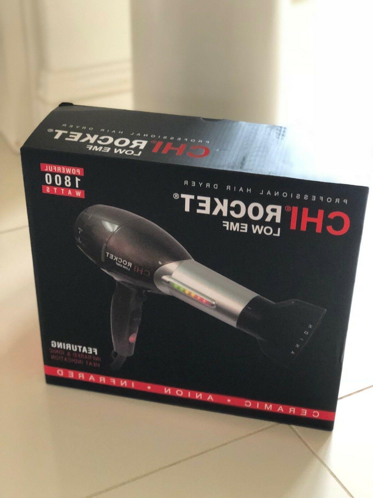 nib rocket low emf professional hair dryer