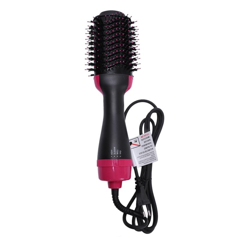 One <font><b>Hair</b></font> and ManKami Hot <font><b>Brush</b></font> <font><b>Hair</b></font> Straightener Curler