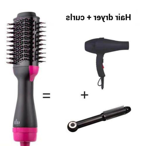 one step hair blow dryer volumizer straightener