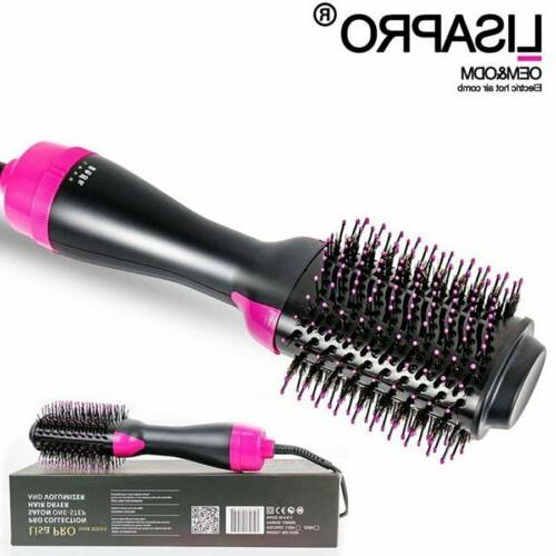 One Dryer and Brush Curling