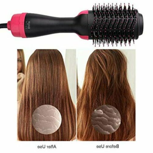 One Hair and Brush Curling Ion