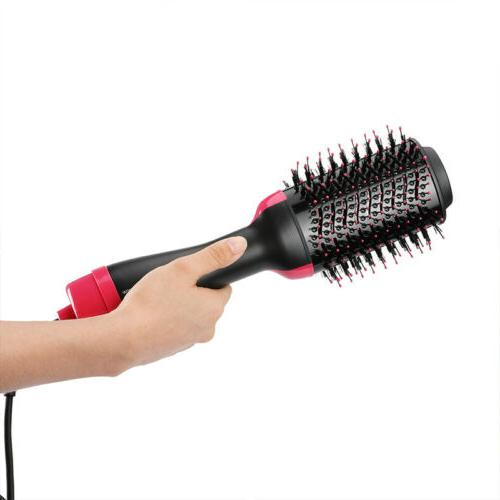 USA Step Hair Dryer Brush Curling Comb